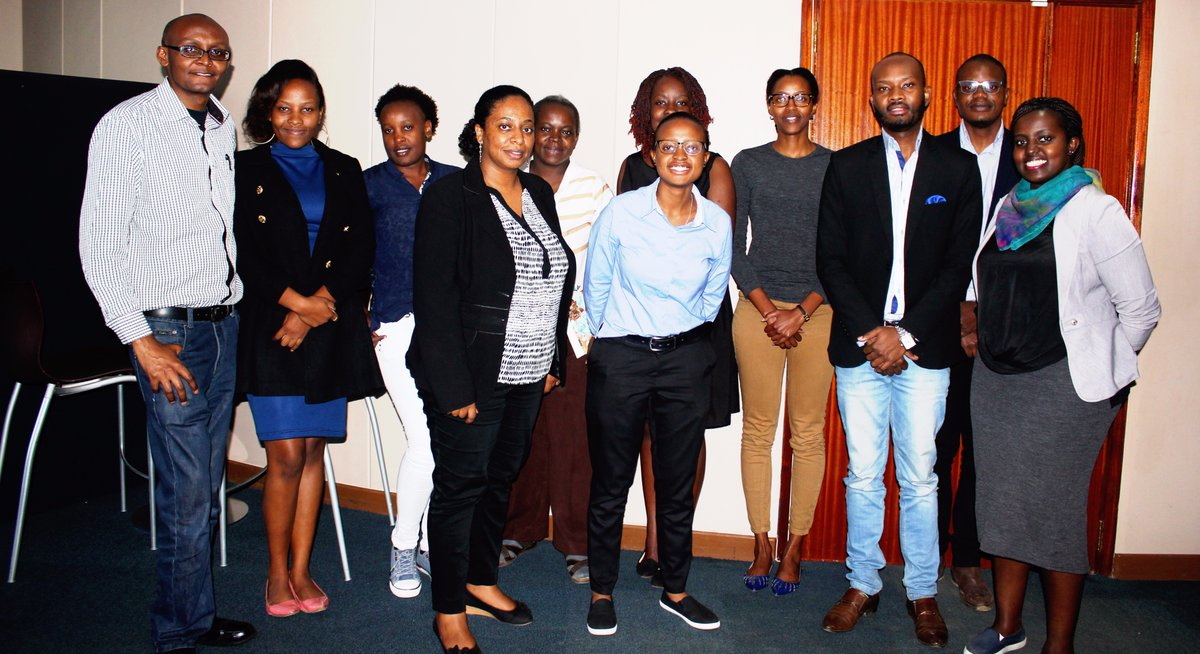 Participants our Digital Marketing Masterclass Training held in Nairobi Kenya